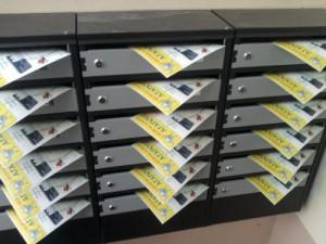 Разноска объявлений по почтовым ящикам